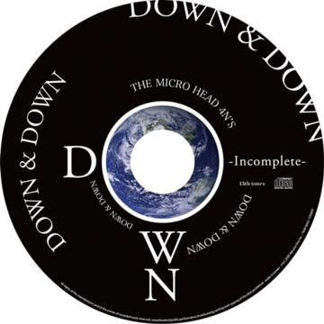 CD「DOWN」-Incomplete- (応募券付き)