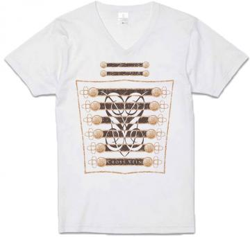 T-shirt『CROSS VEIN』WHITE